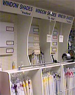 POP Store display with fabrication area